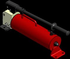 Ручной гидравлический насос НРГ-7020